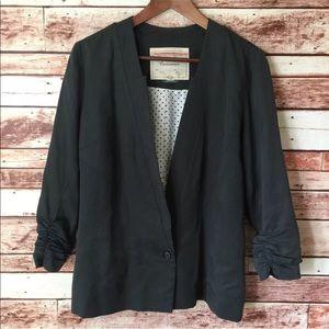 Cartonnier Anthropologie Olive Green Blazer Size 4